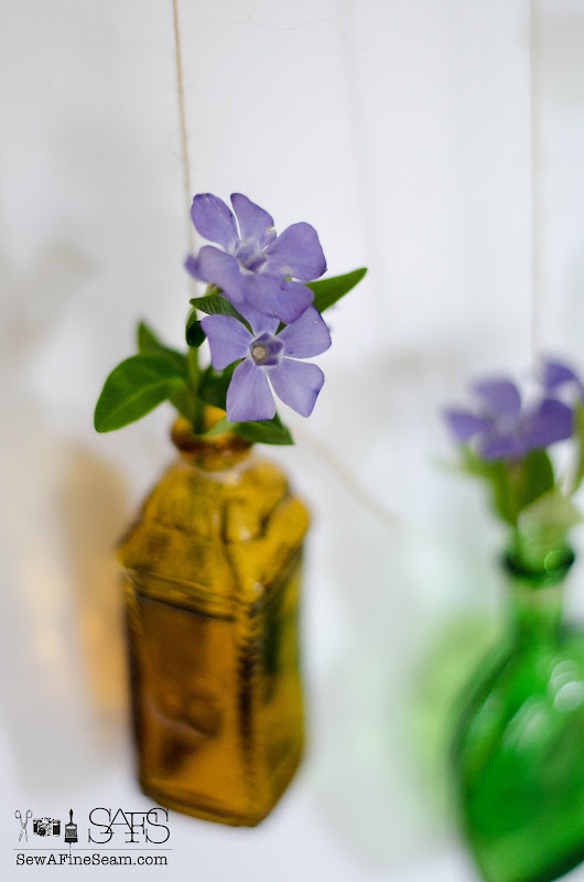 Flower Vase Made of Tiny Bottles | Sew a Fine Seam