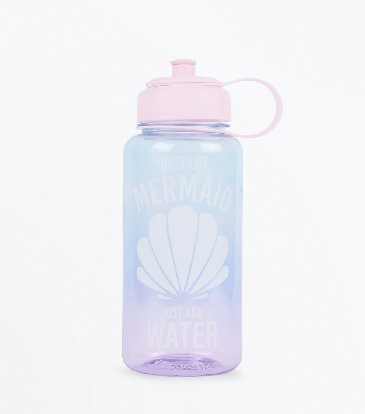 Pink Mermaid Water Bottle | New Look