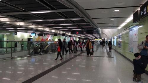 香港大学站 改札