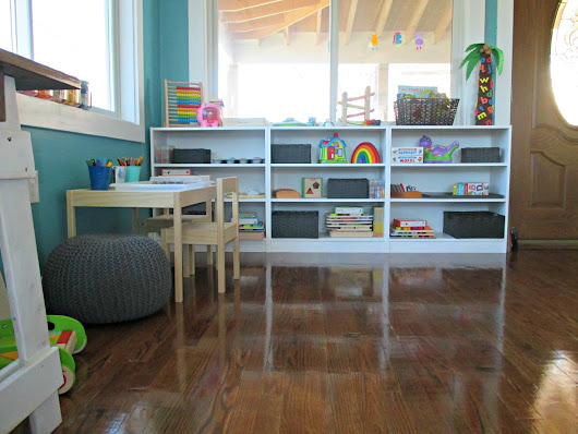 Our Montessori-Inspired Tot School Space - The Keeper of the Memories
