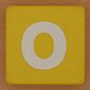 little tikes letter O