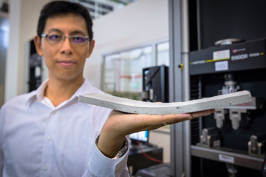 A New Material: Scientists Have Developed a Flexible Form of Concrete