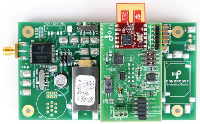 P2110 Powerharvester receiver evaluation board
