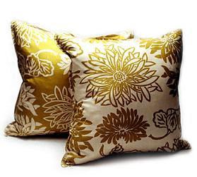 botanical luxe pillow
