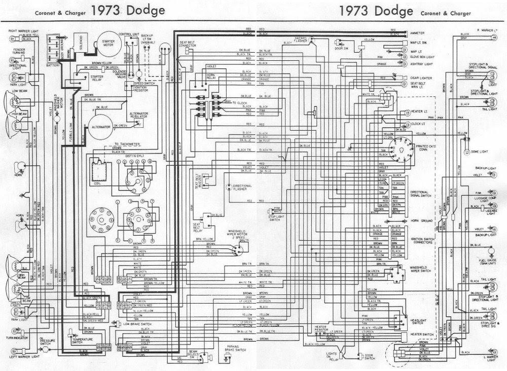 1970 Dodge Challenger Wiring Diagram