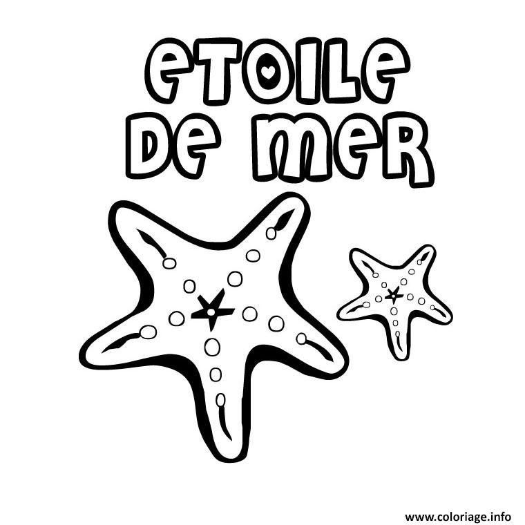 Coloriage Mer Maternelle Jecoloriecom