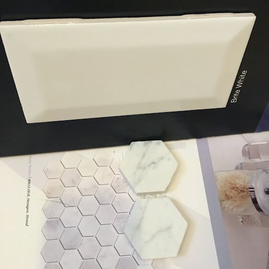 Master Bathroom: Choosing Tile & Pinterest Board