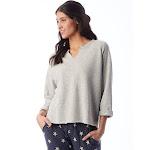 Alternative Champ Remix Eco-Fleece Sweatshirt M Eco Light Grey , Alternative Apparel