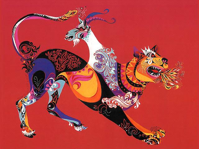 Erni Cabat (Magical World Of Monsters 1992) Chimera