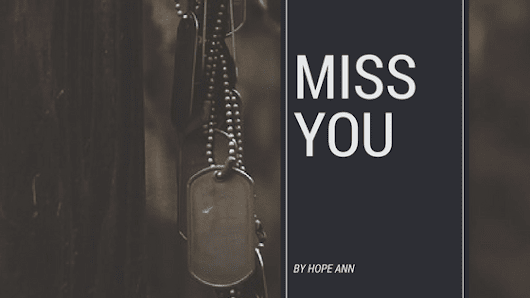 Miss You - Hope Ann