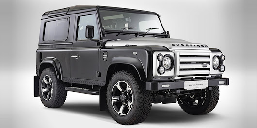 overfinch celebrates its 40th anniversary and pays homage to iconic land rover defender