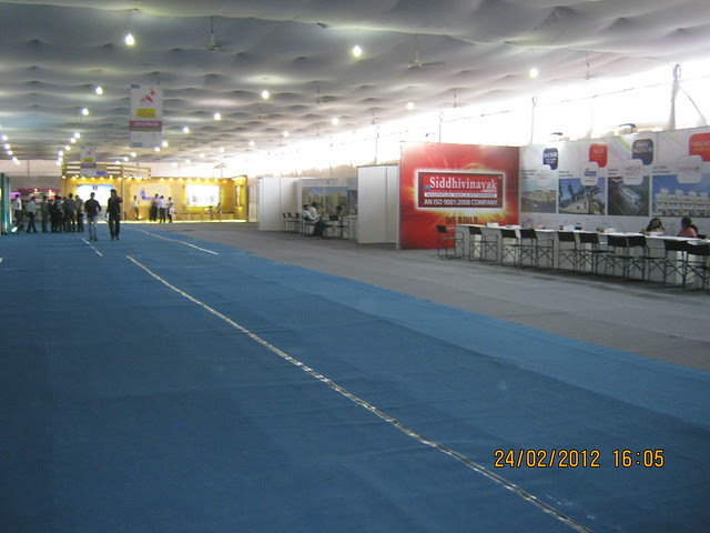 Jai Ganesh! - Visit Sakal Gudi Padwa Gruhotsav 2012, New Agriculture College Ground, Range-Hills, Sinchan-Nagar Pune 411 020