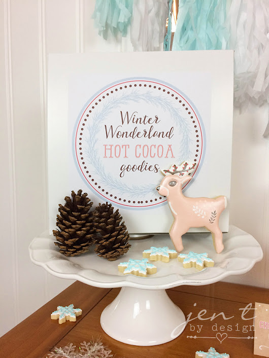 Cookies & Cocoa Gift Sets ~ The Cutest Christmas Gift Idea!