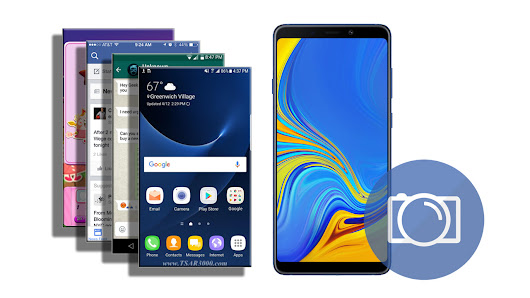 How To Take A Screenshot on The Samsung Galaxy A9 (2018) - Tsar3000
