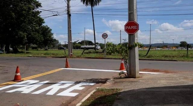 Codego revitaliza sinalização no Distrito Agroindustrial de Senador Canedo