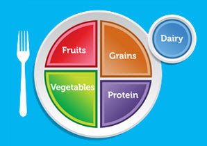 How The MyPlate Diagram (The New Food Pyramid) Can Help ...