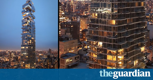 Timelapse video captures rise of latest New York City skyscraper – video