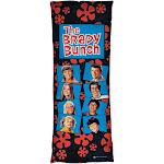 Brady Bunch Squares Body Pillow   Color:   Size: