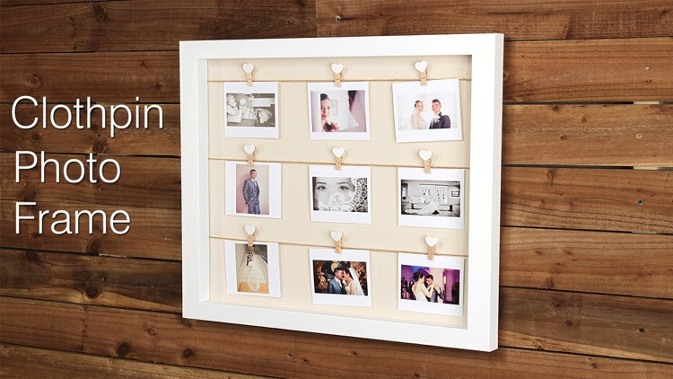 Clothes Pin Photos Frame Editor Clothespin Frame By Jitendra Khunt