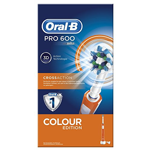 Oral-B PRO 600 CrossAction – Diferentes colores
