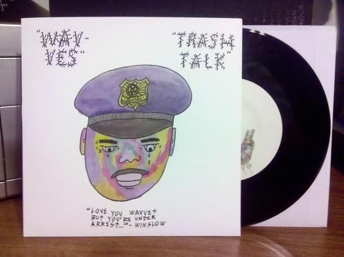 "Record Store Day Haul #11 - Wavves / Trash Talk - Split 7"""