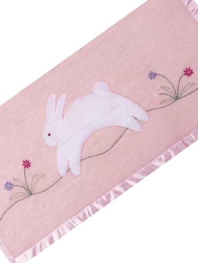 Fuzzy Bunny Blanket