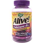Alive Calcium + D3, Gummies - 60 gummies