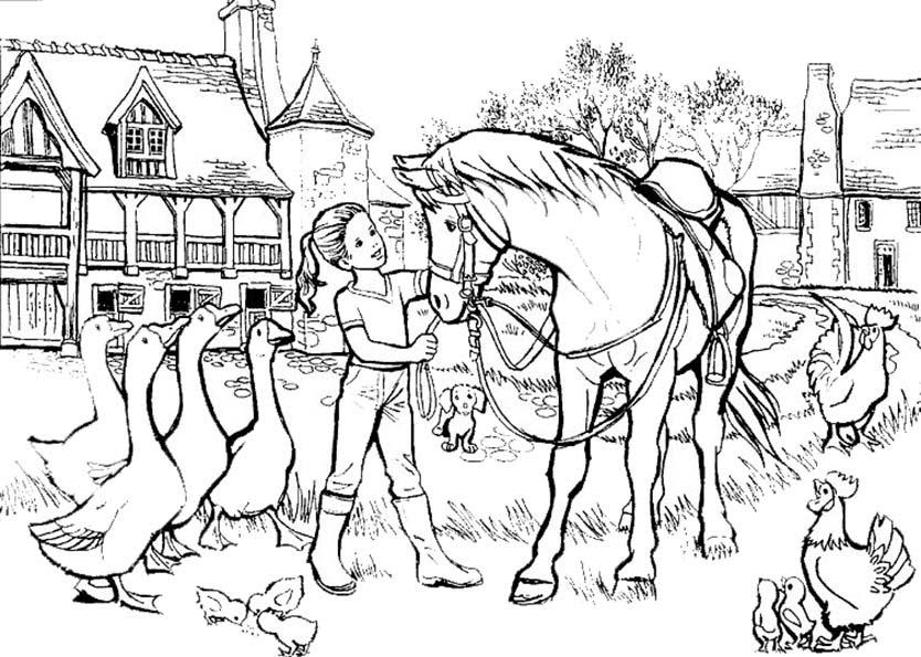 malvorlagen pferde gratis ausdrucken  kinder zeichnen und