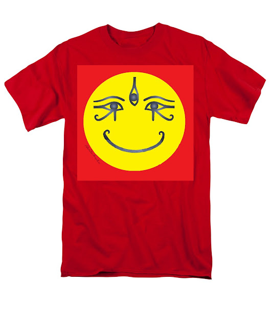 3 Eyes Smiling Men's T-Shirt (Regular Fit)
