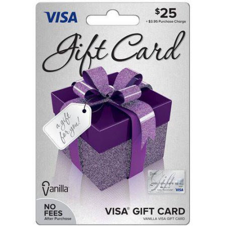 December Giveaway: $25 Visa Gift Card (3 Winners) Ends 12/31/17