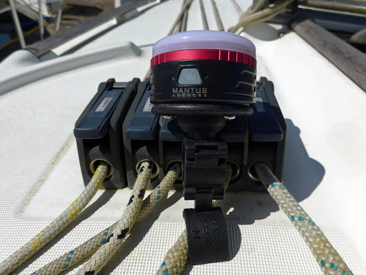 Mantus Snap-On light is perfect for the cockpit - SailBits.com