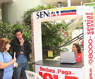 Activada-zafra-tributaria-del-ISLR-en-instituciones-y-centros-comerciales-del-Zulia 01