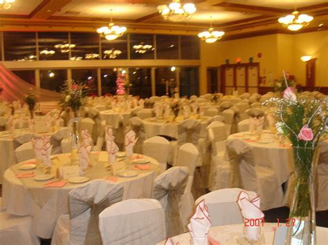 wedding: reception hall
