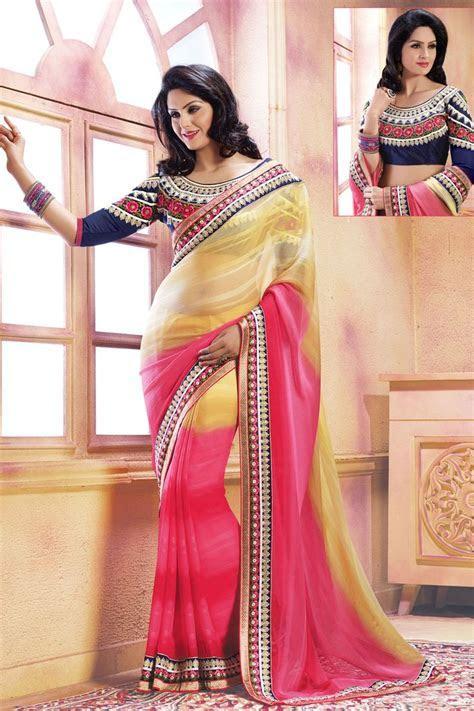 Pink Color Designer Wedding Bridal Lehenga Saree From