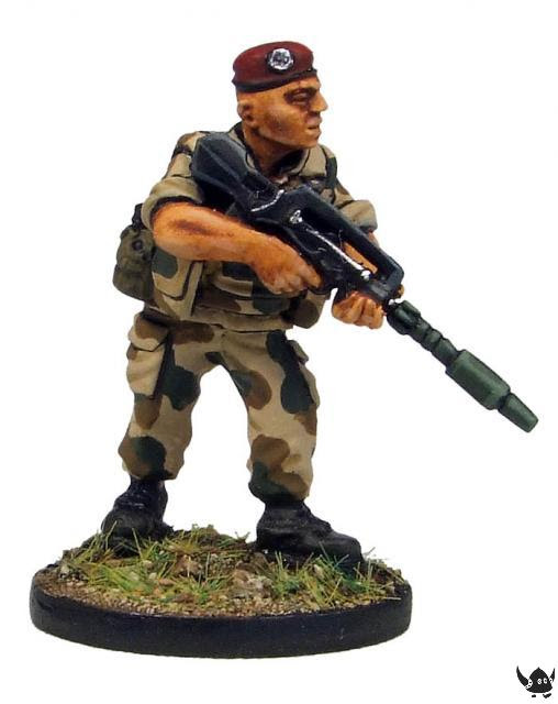 28mm French Foreign Legionnaire
