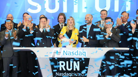 Solar company Sunrun's stock drops after IPO hits target, raises $251 million - Silicon Valley Business Journal