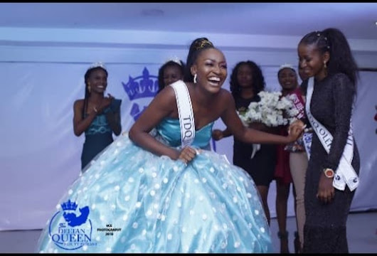 Mark shalom Wins The Deltan Queen 2018 beauty pageant - Models Naija