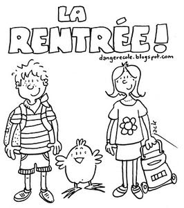 Poésie De Rentrée Cp écolement Léo Et Léa