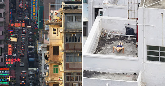 12 Interesting Things That I Captured On The Rooftops Of Hong Kong