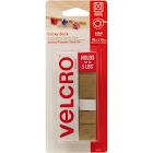 VELCRO Brand Sticky Back 18in x 3/4in Roll, Beige