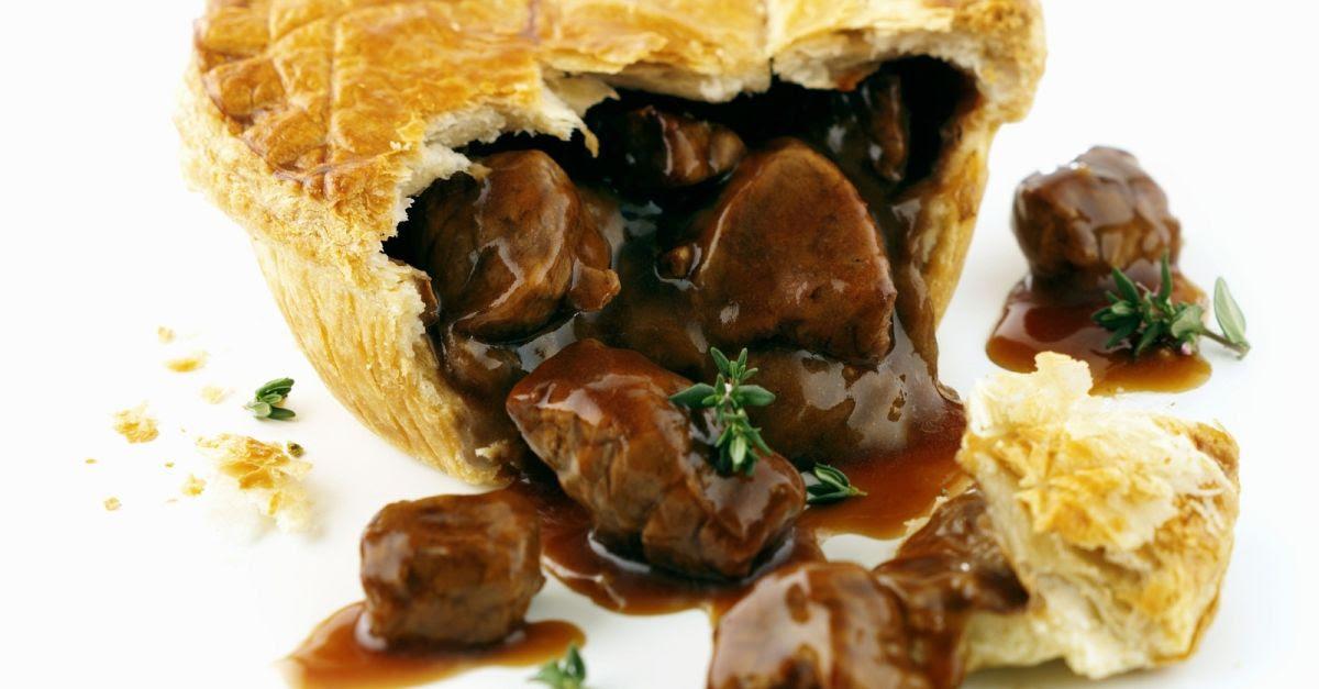 Fleischpastete auf englische Art (Steak Pie) Rezept | EAT ...