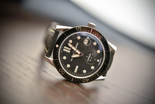 "Noteworthy Newcomer: Ulysse Nardin's $9,600 Vintage-Inspired Diver ""Le Locle"""