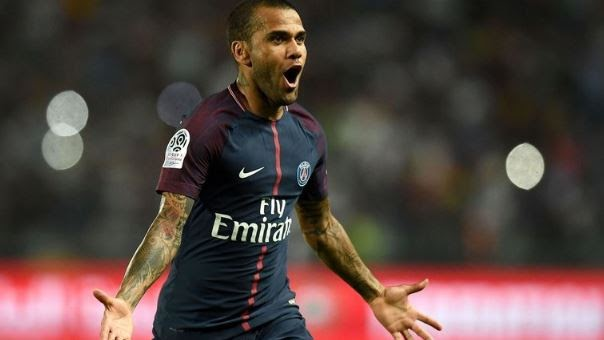 PSG Star Dani Alves Set To Join A Club In The Premier League
