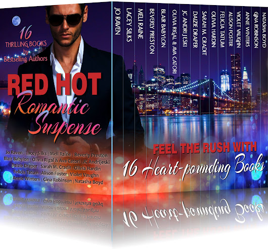#RedHotRomanticSuspense Cover Reveal & Giveaway