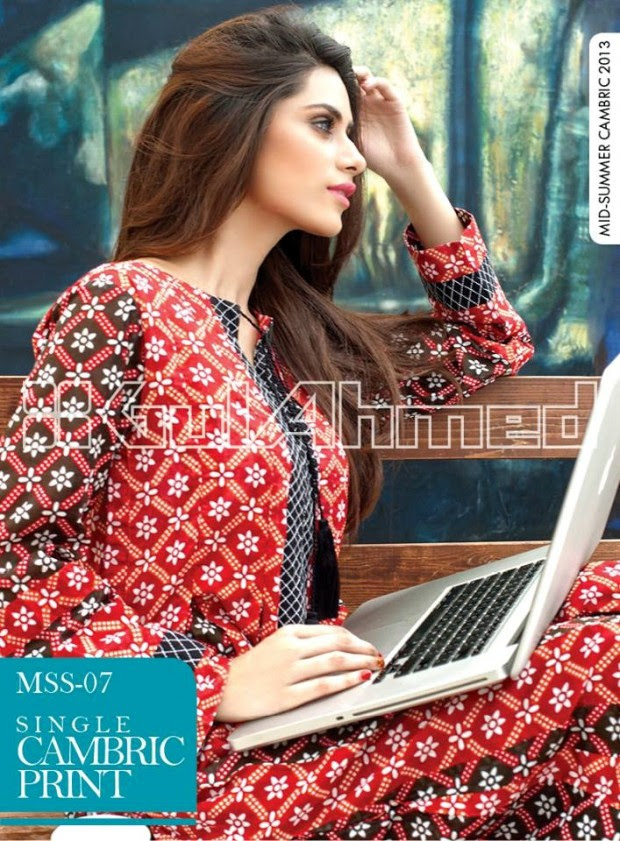 Mid-Summer-Cambric-Collection-2013-Gul-Ahmed-Printed-Embroidered-Fashionable-Dress-for-Girls-Women-20