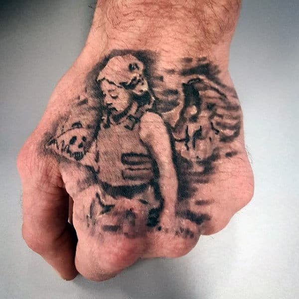 70 Banksy Tattoos For Men Street Art Ink Design Ideas