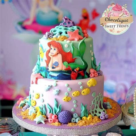 Little Mermaid Cake ? Chocolique