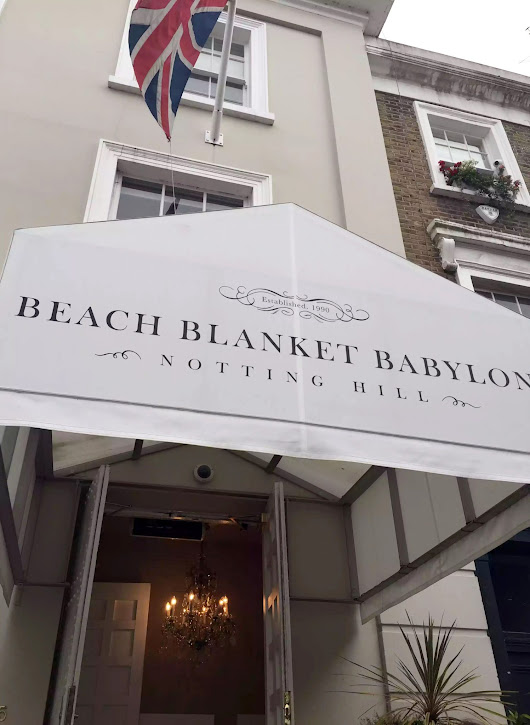 A Beach Blanket Babylon Birthday, Notting Hill - Emma Eats & Explores