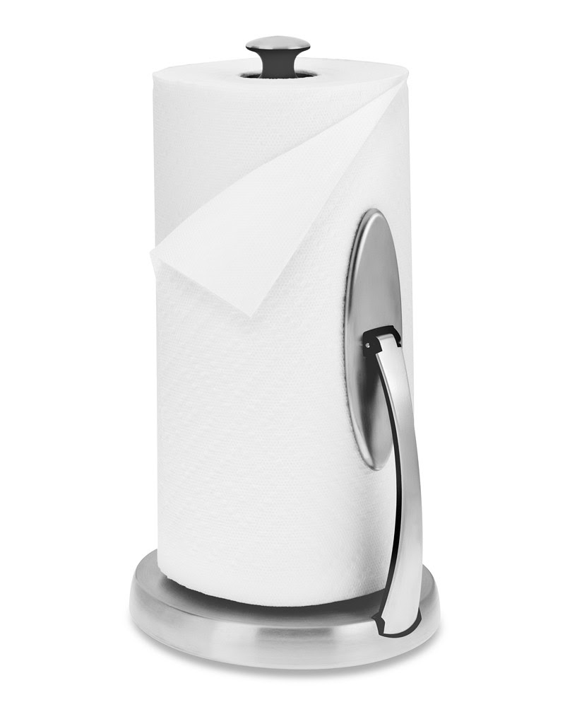 Oxo Paper Towel Holder Brushed Stainless Steel Williams Sonoma