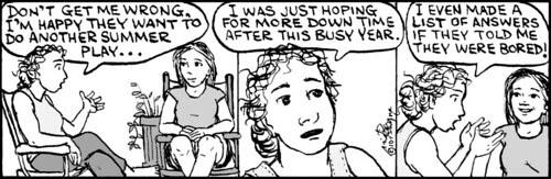 Home Spun comic strip #503